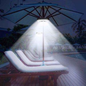 CREATIVE DESIGN Camping Tents Patio Umbrella Lights
